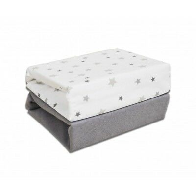 Cuddles Fitted Sheets for Cotbed - Magical Star - 2 Pack