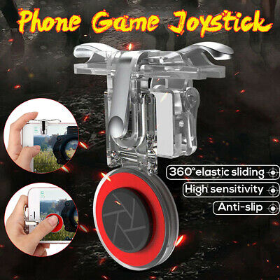 Mobile Game Joystick Trigger Fire Button Controller Shooter for PUBG Android iOS