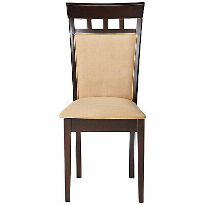 Coaster Home Furnishings Gabriel Wheat Back Side Dining Room Chairs (Set of 2)