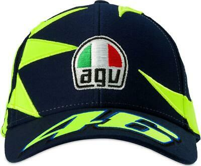 Valentino Rossi VR46 Kid Sun and Moon Helmet Cap 2019
