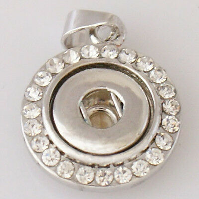 Mini Snap-It Pendant For Small//Petite Ginger Snaps Style Buttons