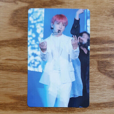 Jungkook Official Photocard BTS Love Yourself World Tour Seoul DVD Genuine