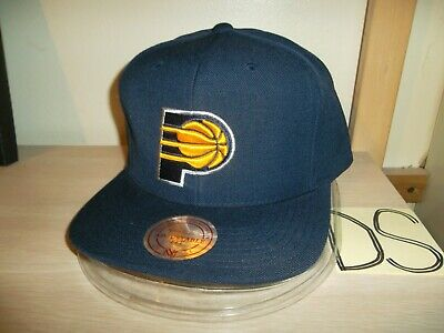 check out d0a99 95266 Indiana Pacers Baseball Cap Hat-Mitchell   Ness Snapback Navy-Blue-