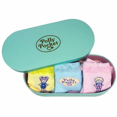Polly Pocket Frill Socks Set in Gift Box (3 Pairs)