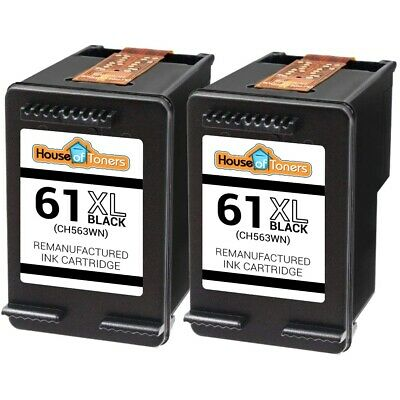 2pk Hp 61xl Ch563wn Ink Cartridges For Officejet 2620 4630 4632 4635