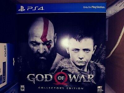 God of War:Collector's Edition (Sony PlayStation 4) New, Collector Packaging