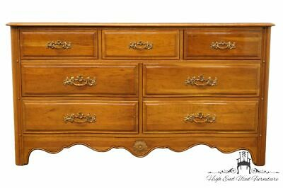 "DAVIS CABINET Solid Provence Cherry Country French 58"" Double Dresser 201"