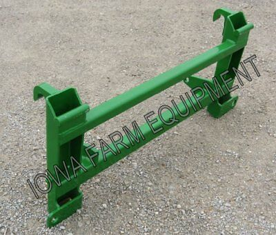 ALO/Euro/Global/Quickie to John Deere 500 Series Loaders Quick Attach Adapter