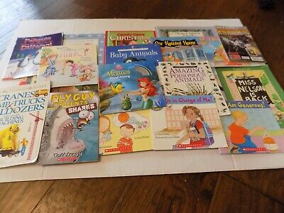 Huge Mixed Lot of 20 Kids Story Books Bedtime Daycare Paper Back & Hard Cover #2