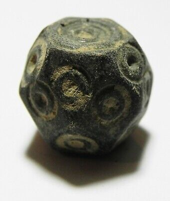 Zurqieh -As11771- Ancient Islamic. Ummayyed Bronze Weight. 5 Dirhams
