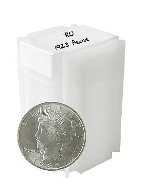 1923 Silver Peace Dollar BU Lot of 20 Philadelphia Minted Solid Date S$1 Coin