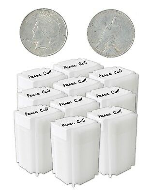 Silver Peace Dollar Cull Lot of 200 S$1 Mix Dates and Mints Range 1922 to 1935