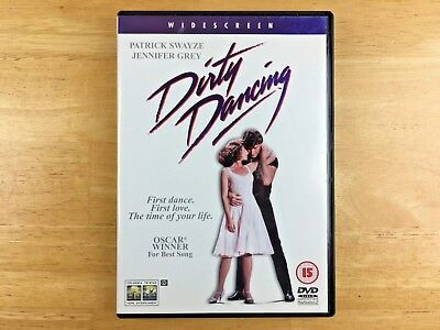 Dirty Dancing - DVD - Region 2 - PAL - 2001 - Patrick Swayze, Jennifer Grey.