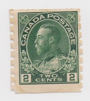 1922-1925 Canada - King George V in Admiral Uniform - 2 Cent Stamp - UNUSED