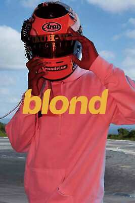 Hot Poster Frank Ocean Blond 24x36 Gift room decor custom print wall decoration