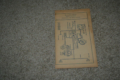 1920 1921 1922 1923 gmc truck & 1926 oldsmobile delco system wiring diagrams