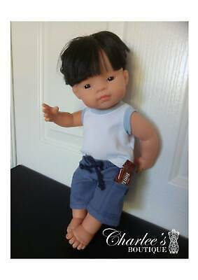 38cm Miniland boy doll clothes (HAND MADE IN PERTH)