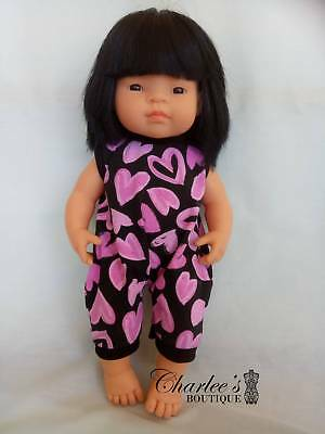 Miniland doll clothes jumpsuit (MADE IN PERTH)