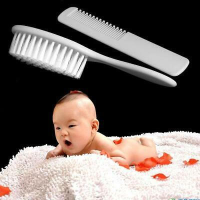 Safe Soft Hair Baby Brush Set Infant Comb Grooming Shower Head Massager Tool YI