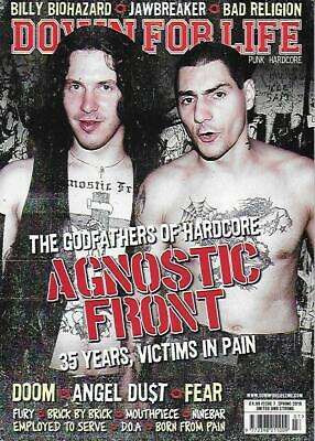 DOWN FOR LIFE MAGAZINE -ISSUE 7 (NEW)*Post included to UK/Europe/USA/Canada
