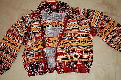 Miami Heat Jacket, Handmade by Miccosukee Indians. BRAND NEW! With signed Ball