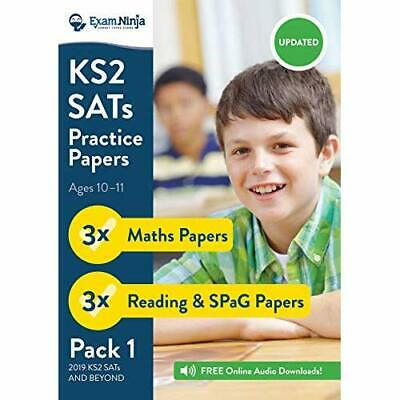 KS2 SATs Practice Papers (English & Maths) for the 2016 - Paperback NEW Exam Nin