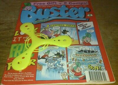 Buster Comic 23/7/96, With Free Gift