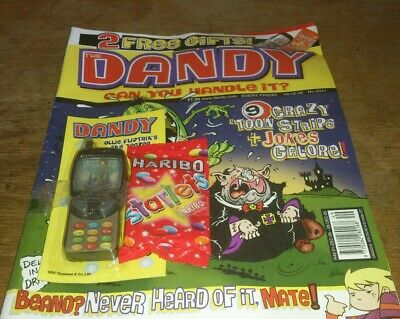 Dandy Comic. 10/12/05, With Free Gift