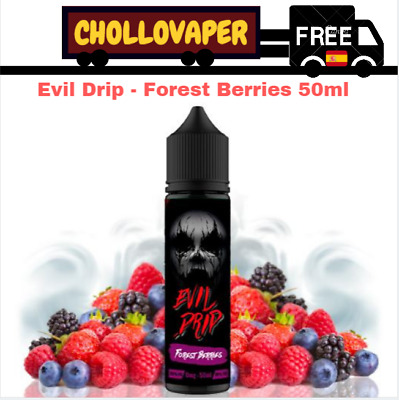 Líquido Evil Drip - Forest Berries 50ml  (Shortfill) E-liquid E-juice