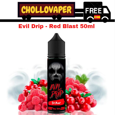 Líquido Evil Drip Red Blast 50ml (Shortfill)  E-liquid E-juice