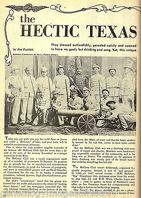 McGinty Club -The Hectic El Paso Texas Group of History