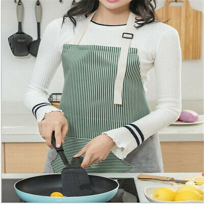 Creative Housework Waterproof Oil-proof Anti-fouling Kitchen Pocket Apron CB