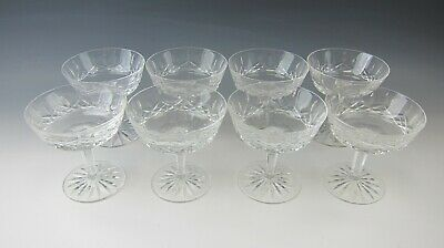 Lot of 8 Waterford Crystal LISMORE Champagne/Tall Sherbet(s) EXCELLENT