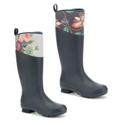 Muck Boots RHS Tremont Wellies Tall Womens Ladies Neoprene Wellington Size 4-8