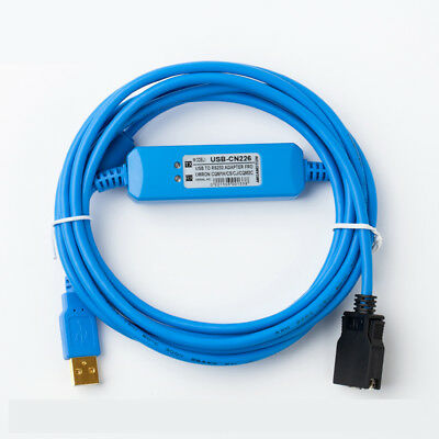 Cs1w-cn226 Pc-cn226 Cs1w Cn226 Rs232 Adapter Programming Cable For Omron Cs Cj Cqm1h And Cpm 2c Plc