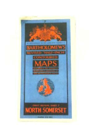Bartholomew's Revised Half Inch Contoured Map Sheet 7 N (Anon - 1111) (ID:87381)