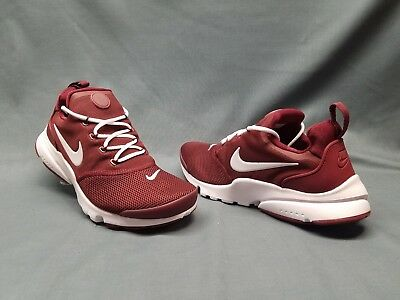 0028b07e9ff Nike Presto Fly (GS) Athletic Sneakers Mesh Red White Boys Size 5 FLOOR  MODEL