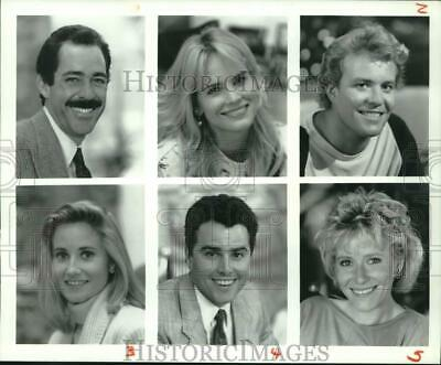 A Very Brady Christmas.1988 Press Photo Actors Featured In Scenes From A Very Brady Christmas