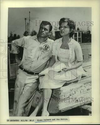 1962 Wire Photo Hollywood Legend Actor Glenn Ford Movie Star