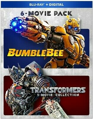 Bumblebee And Transformers Ultimate 6-Movie Collection [New Blu-ray] Boxed Set