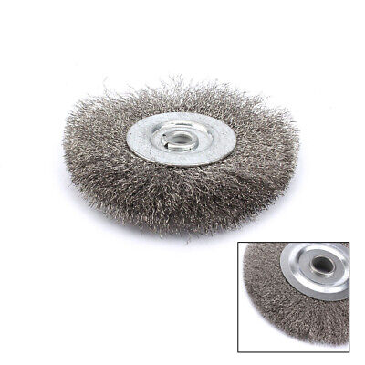 75mm  Crimped Stainless Steel Wire Wheel Brush Bench Grinder Abrasive Tools