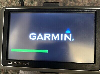 GARMIN NUVI 255W Gps Unit Tested Works With Car Power Cord