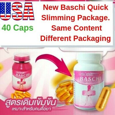 40 Capsules Baschi Very Strong Weight Loss Slimming Fat Burner Diet Pills