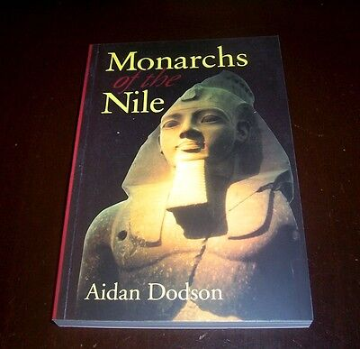 MONARCHS OF THE NILE ANCIENT EGYPT Pharaohs Kings King Egyptian History Book NEW