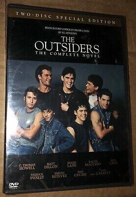 THE OUTSIDERS THE COMPLETE NOVEL (DVD, 2005, 2-Disc Set) NEW & SEALED