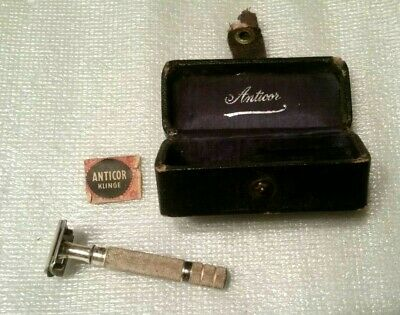 Anticor Vintage Corn & Callus Safety Razor w/ Case  made in Germany W/ BLADE