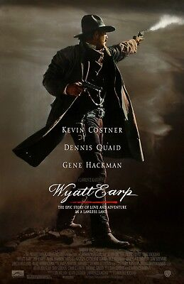 Wyatt Earp movie poster (a) - Kevin Costner poster  - 11 x 17 inches