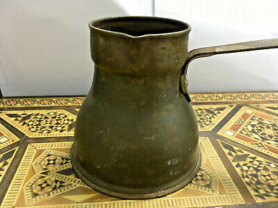 VINTAGE Antique Islamic Dallah Coffee Pot Copper Arabian Middle Eastern Arabic