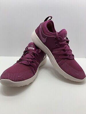 check out 6678e 32160 Womens Nike Free TR7 904651 603 Tea Berry Bordeaux Size 8
