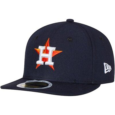 Houston Astros New Era 59Fifty Youth Blue Home On Field Performance Fitted Hat